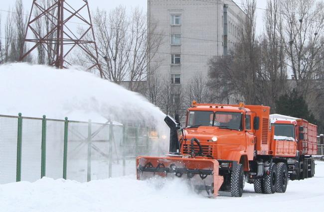 снегоуборочный автомобиль КрАЗ-63221 Дорожник