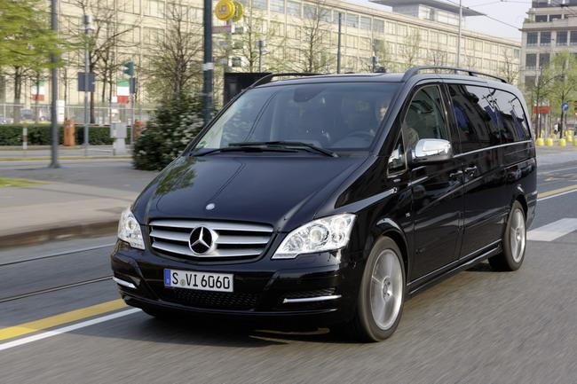 Коммерческие Mercedes-Benz: Viano