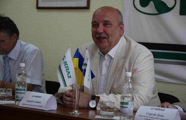 Предыдущий гендиректор ПАО АвтоКрАЗ Сергей Сазонов
