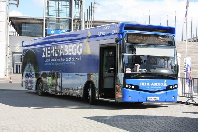 Электромотор-колеса ZAwheel для автобуса