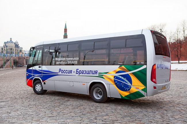 Автобусы малого класса Bravis