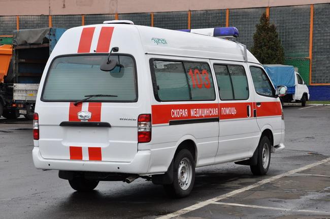 Автомобиль скорой помощи МАЗ-182