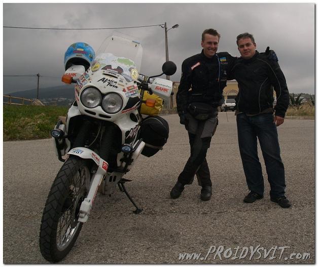 Кругосветное путешествие на мотоцикле завершилось
