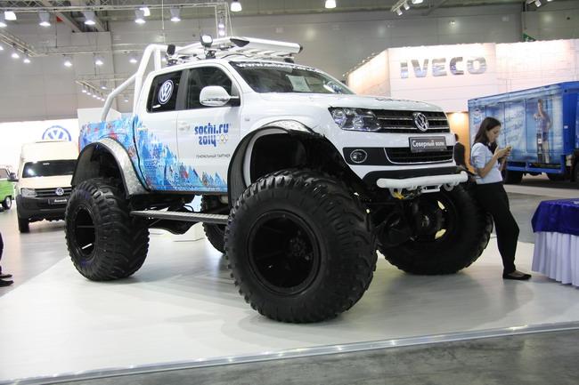 Пикап Volkswagen Amarok «Северный волк».