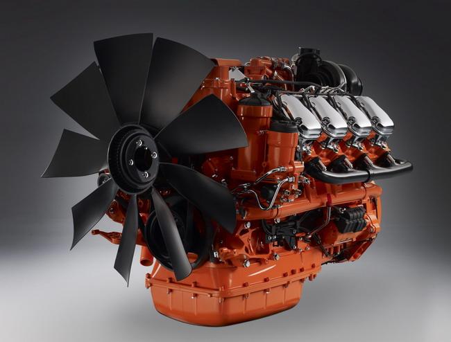 Двигатели Scania