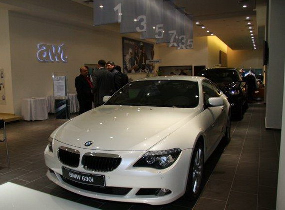 Салон BMW