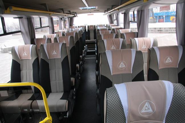 новый автобус корпорации «Эталон»