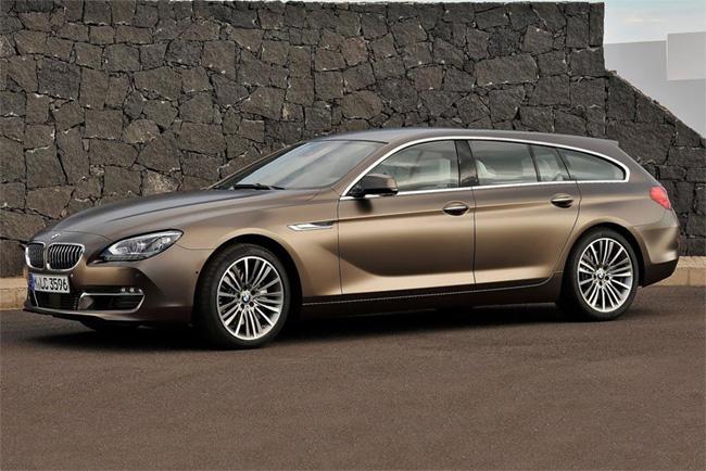 новый универсал BMW 6 Gran Coupe