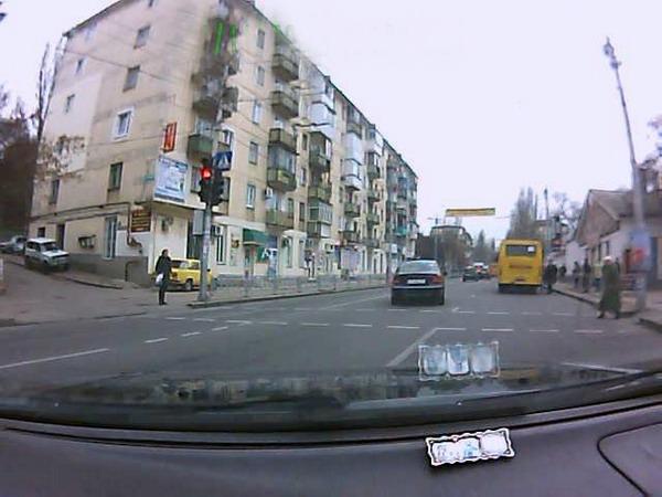 ГАИ Севастополя гонялась за Mercedes Е-Class
