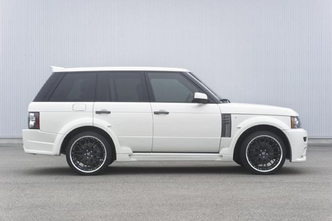 новый спорт-пакет Hamann для Range Rover Supercharged