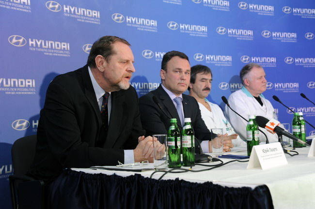 «Хюндай Мотор Украина» передала киевской БСП аппаратуру на сумму более полумиллиона гривен