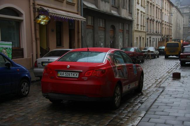 Седан MG 550 протестирован «Автоцентром»