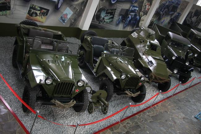 Музей автомотостарины в Запорожье