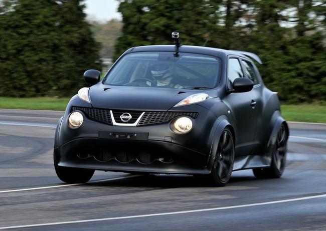 тесты Nissan Juke-R