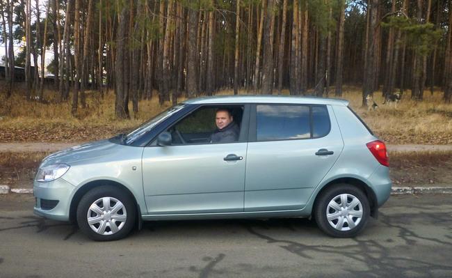 Руслан Миронюк, победитель розыгрыша призов акции «Автомобиль года в Украине 2011»