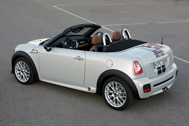 Mini привезет новый Roadster в Детройт