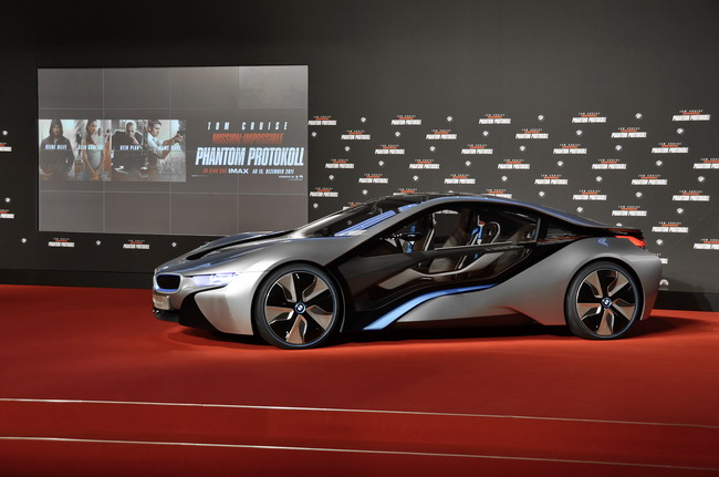 «Миссия невыполнима 4: Протокол Фантом» в BMW Welt