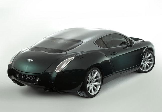 Bentley Continental GTZ от ателье Zagato выставлен на аукцион