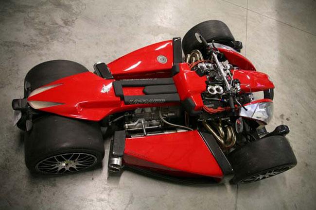 Уникальный Lazareth Wazuma V8F с двигателем Ferrari выставлен на продажу