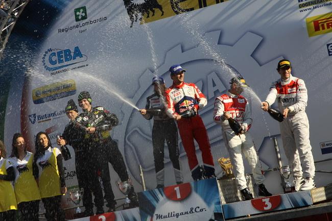 В этот раз 2-кратный и 4-кратный итальянские победители Монца Ралли Шоу все же уступили гостю, являющемуся сильнейшим раллистом планеты!