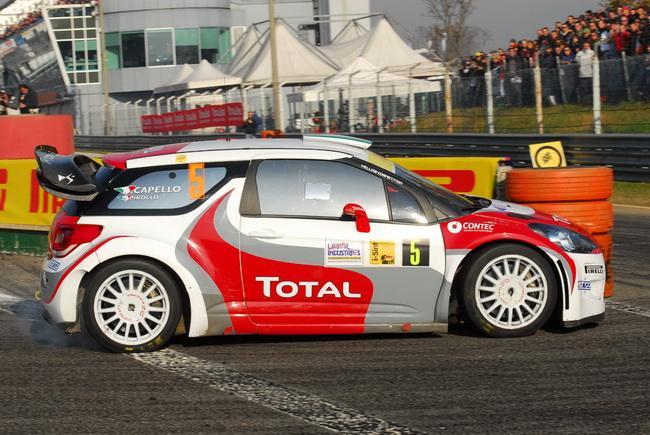 Капелло победил в первых двух Монца Ралли Шоу выступая на Skoda Fabia WRC, потом были другие автомобили WRC. Теперь - самый современный DS3