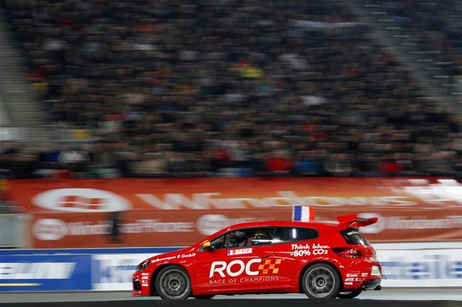 Ожье удалось освоиться даже в Scirocco, на котором он опередил на 2 секунды кузовного асса Тимо Шайдера и уступил мизер в полуфинале Ханнинену