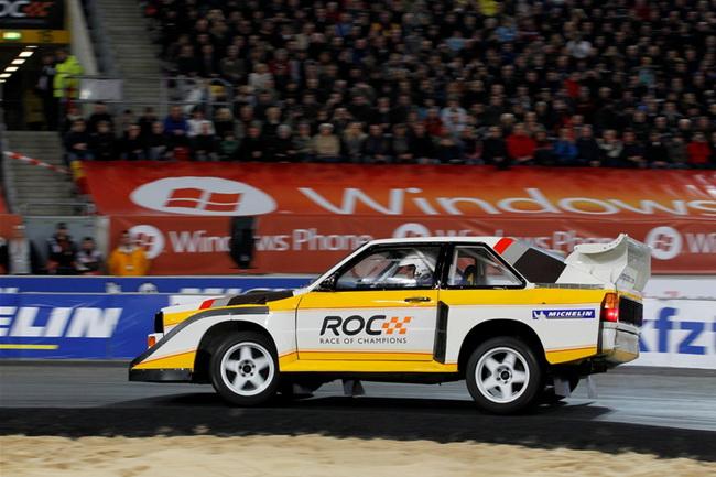 После прошлогоднего переворота Audi Quatro группы В в исполнении Мишель Мутон, в этот раз этот автомобиль доверили Стигу Бломквисту...