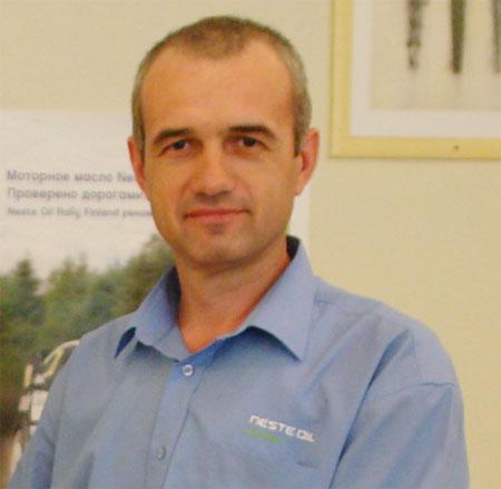 руководитель проекта по продвижению Neste Oil в Украине Николай Демчук