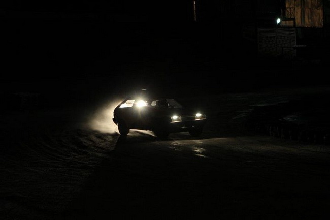 зимние трековые гонки