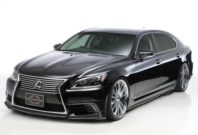 седан Lexus LS получит спортивные нотки