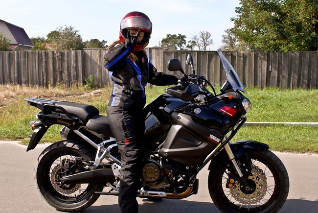 Анна Гречишкина совершит кругосветное путешествие на мотоцикле