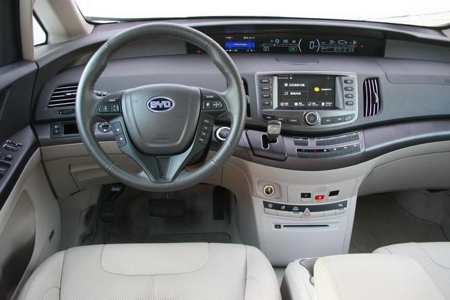 Тест-драйв электромобиля BYD е6