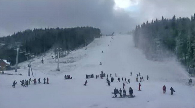 погода и снег в Буковеле 2012