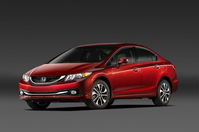 Седан Honda Civic 2013 дебютировал на автосалоне в Лос-Анжелесе