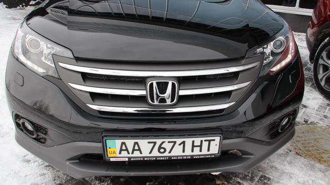 новая Honda CR-V четвертого поколения