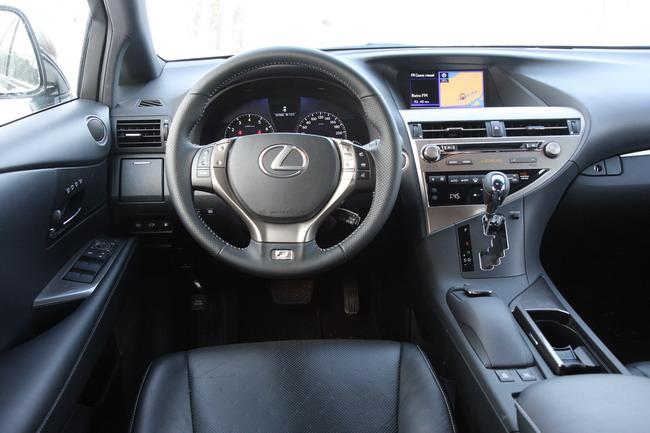тест-драйв Lexus RX 350 F Sport