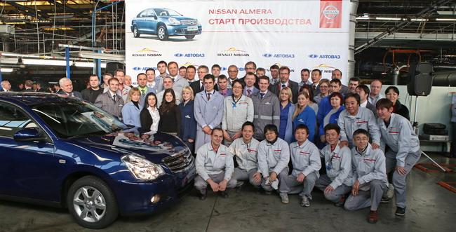 Новый седан Nissan Almera