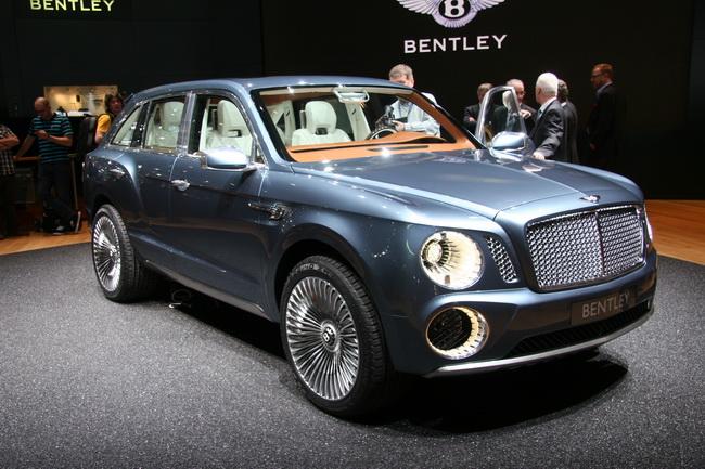Самые яркие концепт-кары 2012 года: Bentley EXP 9 F