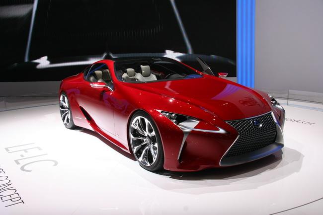 Самые яркие концепт-кары 2012 года: Lexus LF-LC
