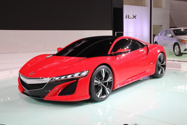 Самые яркие концепт-кары 2012 года: Acura NSX