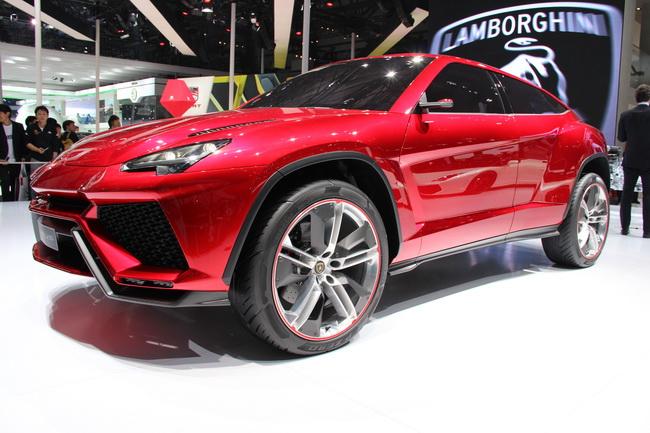 Самые яркие концепт-кары 2012 года: Lamborghini Urus