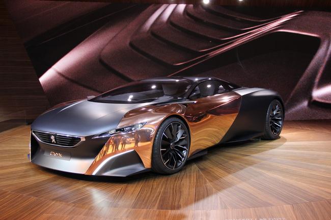 Самые яркие концепт-кары 2012 года: Peugeot Onyx