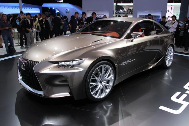 Самые яркие концепт-кары 2012 года: Lexus LF-CC