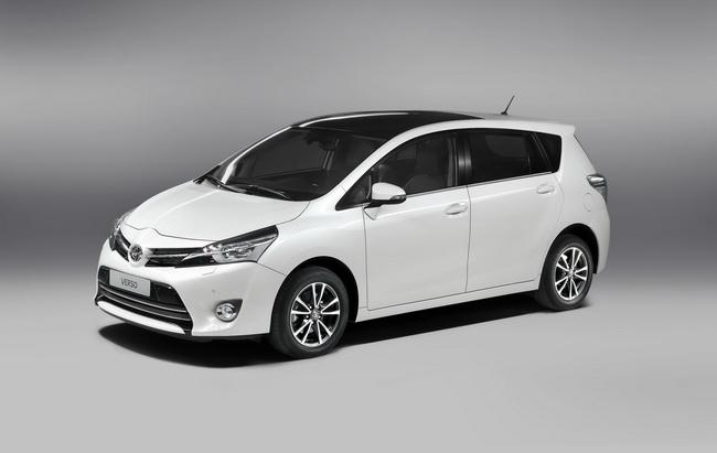 Обновленный Toyota Verso