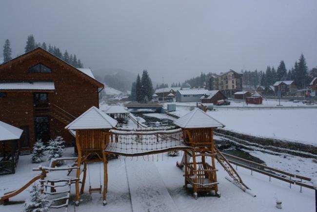 есть ли снег в Буковеле