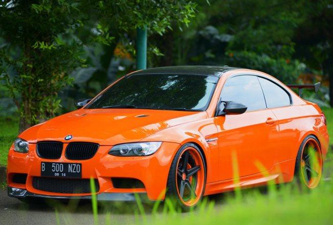 BMW E92 M3 Halloween Edition от Antelope Ban