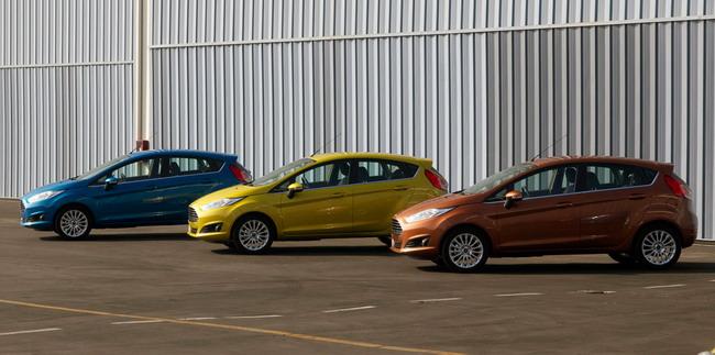 Новый Ford Fiesta