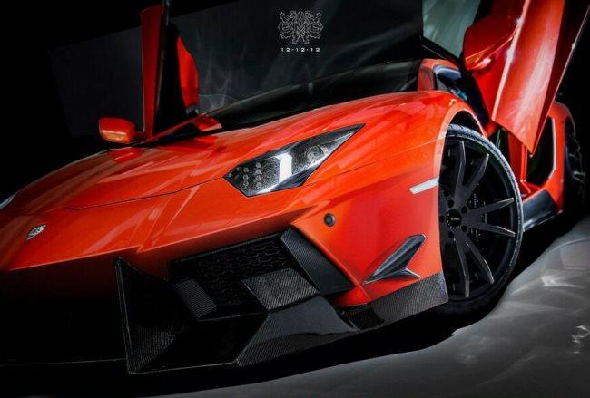 Тюнинг Lamborghini Aventador DMC