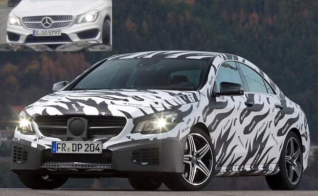 прототип Mercedes CLA
