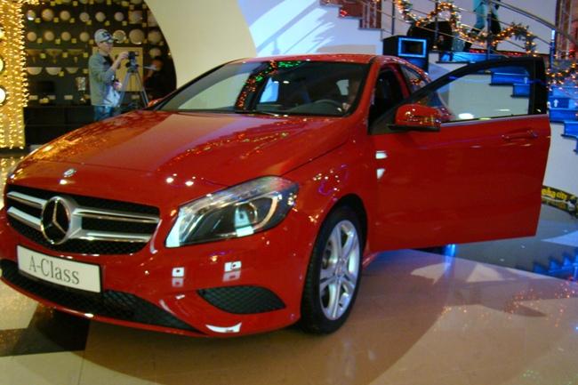 Mercedes-Benz A- и GL-Class